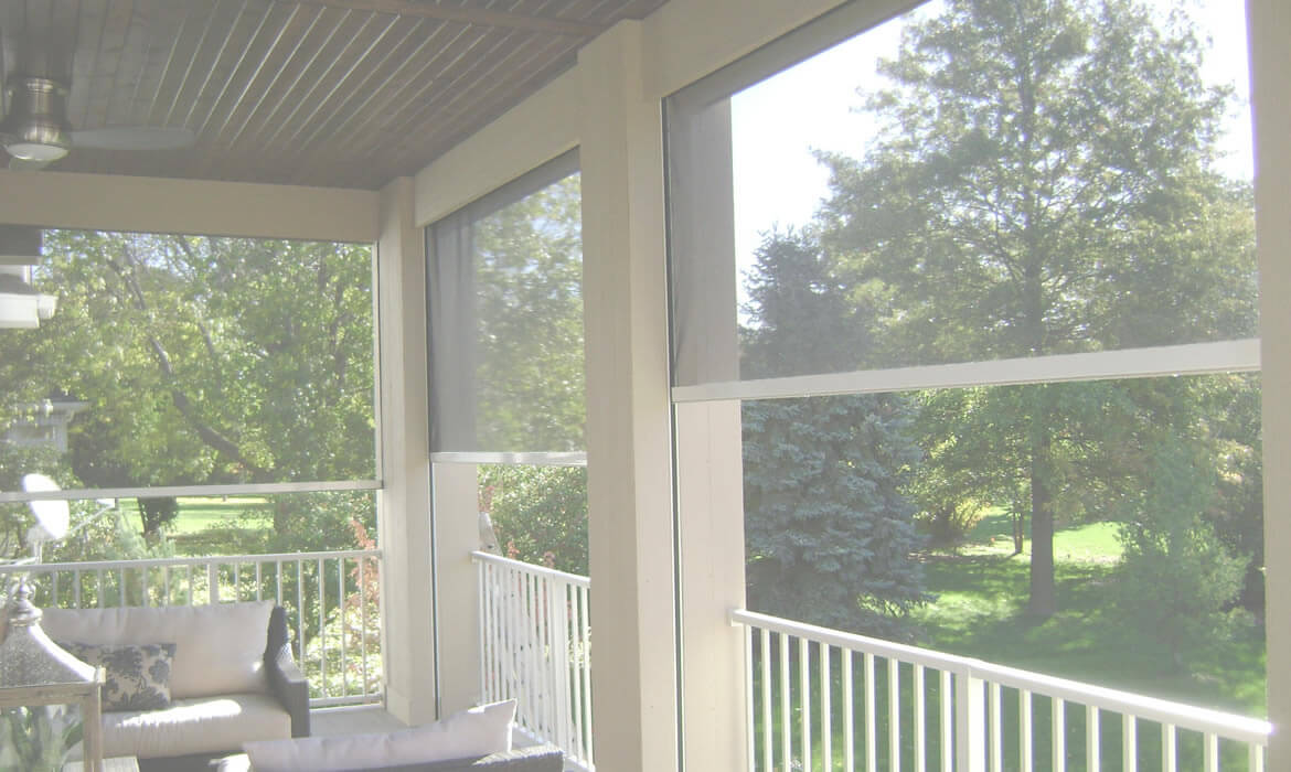 retractable screen porch home design