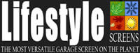 Lifestyle Garage Door Screens - Des Moines, Omaha