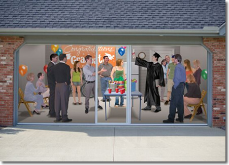 Lifestyle Garage Door Screen - More Bug Free Liveable Space