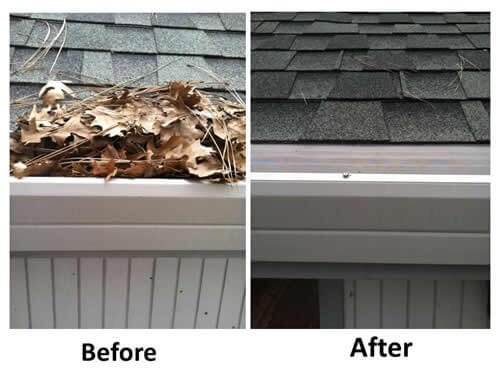Gutter Screens Cover your Gutters so no more fall cleaning!