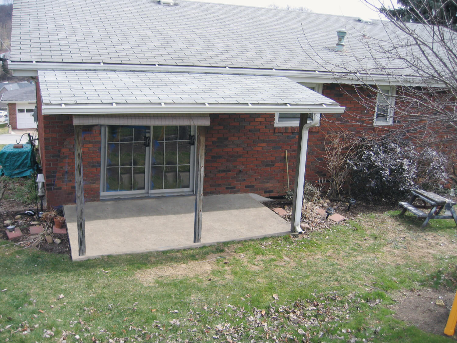 sunroom-des-moines-ia-3a-FIBefore - Retractable Awnings ...