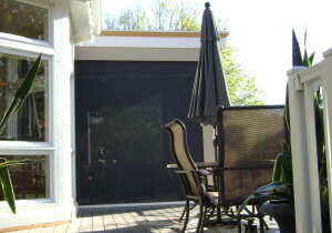 Retractable Porch Screen